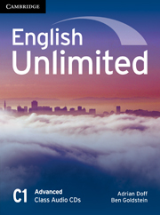 Аудіодиск English Unlimited Advanced Class Audio CDs