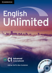 English Unlimited Advanced Coursebook with e-Portfolio - фото обкладинки книги