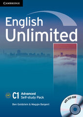English Unlimited Advanced Self-study Pack - фото обкладинки книги