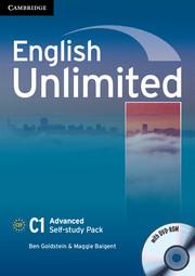 Підручник English Unlimited Advanced Self-study Pack