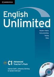 Книга для вчителя English Unlimited Advanced Teacher's Pack