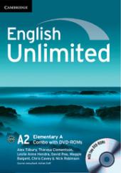 English Unlimited Elementary A - фото обкладинки книги