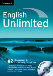 English Unlimited Elementary A - фото книги