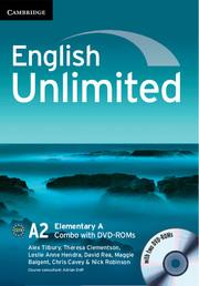 English Unlimited Elementary A - фото книги