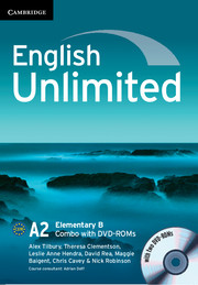 English Unlimited Elementary B - фото книги