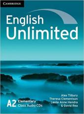 English Unlimited Elementary Class Audio CDs - фото обкладинки книги