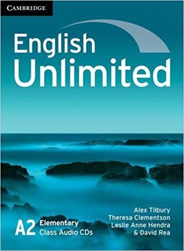 Аудіодиск English Unlimited Elementary Class Audio CDs