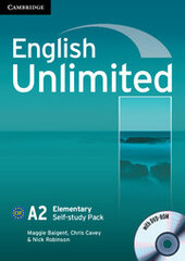 English Unlimited Elementary Self-study Pack - фото обкладинки книги