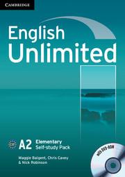 Підручник English Unlimited Elementary Self-study Pack