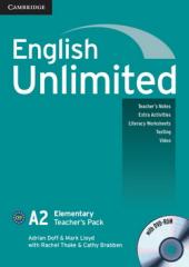 English Unlimited Elementary Teacher's Pack (Teacher's Book with DVD-ROM) - фото обкладинки книги