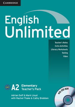 English Unlimited Elementary Teacher's Pack (Teacher's Book with DVD-ROM) - фото книги