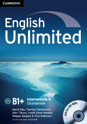 Підручник English Unlimited Intermediate B