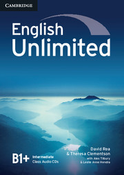 Аудіодиск English Unlimited Intermediate Class Audio CDs