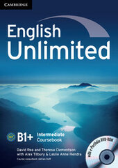 English Unlimited Intermediate Coursebook with e-Portfolio - фото обкладинки книги