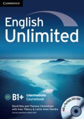 English Unlimited Intermediate Coursebook with e-Portfolio - фото обкладинки книги