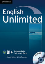 Підручник English Unlimited Intermediate Self-study Pack