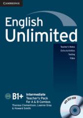 English Unlimited Intermediate Teacher's Pack - фото обкладинки книги