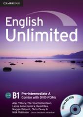 English Unlimited Pre-intermediate A - фото обкладинки книги