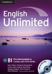 English Unlimited Pre-intermediate A - фото книги