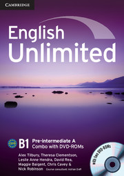 Підручник English Unlimited Pre-intermediate A
