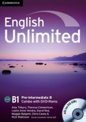 English Unlimited Pre-intermediate B - фото обкладинки книги