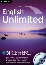English Unlimited Pre-intermediate B - фото книги