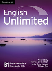 English Unlimited Pre-intermediate Class Audio CDs - фото обкладинки книги