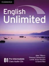 English Unlimited Pre-intermediate Class Audio CDs - фото обкладинки книги