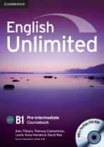 Підручник English Unlimited Pre-intermediate Coursebook with e-Portfolio