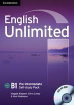 Робочий зошит English Unlimited Pre-intermediate Self-study Pack