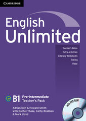 Аудіодиск English Unlimited Pre-intermediate Teacher's Pack