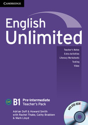 English Unlimited Pre-intermediate Teacher's Pack - фото книги