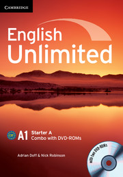 English Unlimited Starter A - фото книги