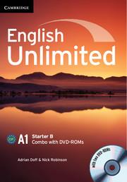 English Unlimited Starter B - фото книги