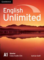 Робочий зошит English Unlimited Starter Class Audio CDs