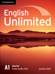 Аудіодиск English Unlimited Starter Class Audio CDs
