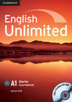Посібник English Unlimited Starter Coursebook with e-Portfolio
