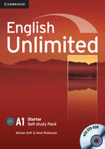 Підручник English Unlimited Starter Self-study Pack