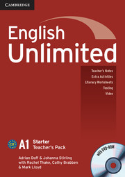 English Unlimited Starter Teacher's Pack - фото книги