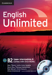 English Unlimited Upper Intermediate B - фото книги
