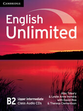 English Unlimited Upper Intermediate Class Audio CDs - фото обкладинки книги