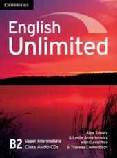 English Unlimited Upper Intermediate Class Audio CDs - фото обкладинки книги