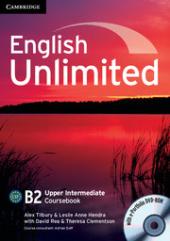 English Unlimited Upper Intermediate Coursebook with e-Portfolio - фото обкладинки книги