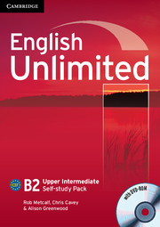 English Unlimited Upper Intermediate Self-study Pack - фото книги