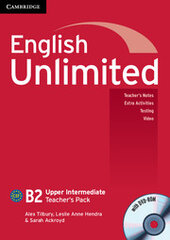 English Unlimited Upper Intermediate Teacher's Pack - фото обкладинки книги