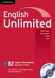 Книга для вчителя English Unlimited Upper Intermediate Teacher's Pack