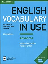 English Vocabulary in Use: Advanced Book with Answers and Enhanced eBook : Vocabulary Reference and Practice - фото обкладинки книги