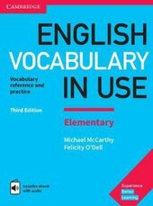 English Vocabulary in Use Elementary Book with Answers and Enhanced eBook : Vocabulary Reference and Practice - фото обкладинки книги