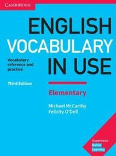 English Vocabulary in Use Elementary Book with Answers : Vocabulary Reference and Practice - фото обкладинки книги