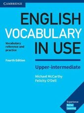 English Vocabulary in Use Upper-Intermediate Book with Answers : Vocabulary Reference and Practice - фото обкладинки книги